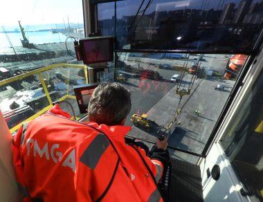 TMGA Puerto de La Coruña Crane